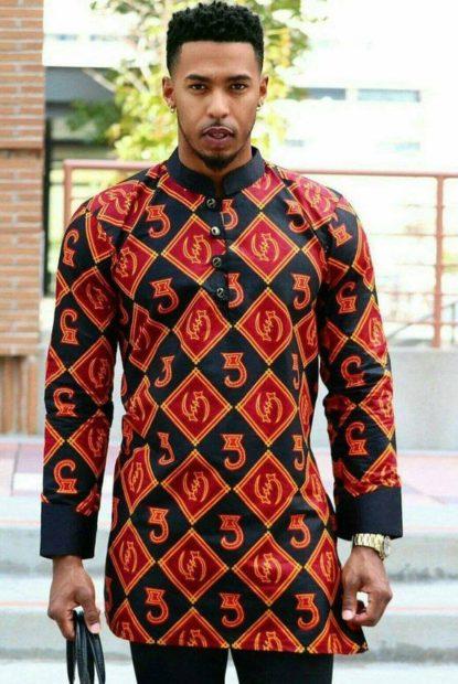 Ankara fashion style for men