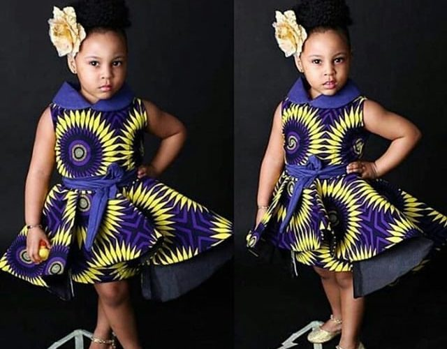 Reviewing of Latest Baby Ankara Designs Which Make Kids Special