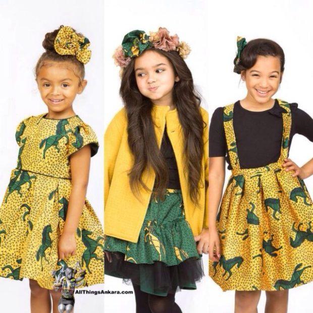 Baby Ankara Designs