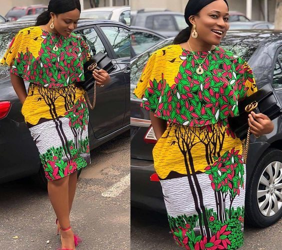 AMAZING NIGERIA TAILOR GET AFRICAN ANKARA STYLES (PHOTOS)