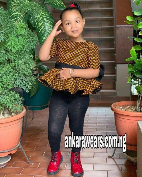 Latest Baby Ankara Styles