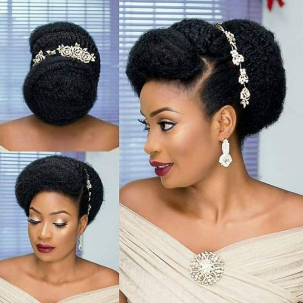 Bridal braid hairstyles Nigeria
