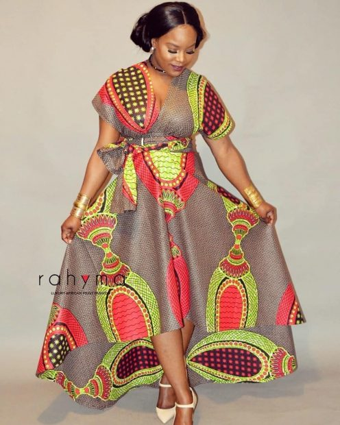 ankara gown wears